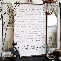 F. Scott Fitzgerald | Wood Sign. farmhouse signs, rustic signs, fixer upper style, home decor, rustic decor, inspiring quotes, wood sign sayings, magnolia market, rustic signs, boho, boho style, eclectic living, living room inspiration, joanna gaines decor