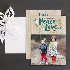 Browse hundreds of gorgeous, customizable wedding invitations, save-the-dates and more from our affordable wedding stationery collection. Christmas Photo Cards, Christmas Greeting Cards, Christmas Greetings, Wedding Stationery, Wedding Invitations, Cool Patterns, Bold Colors, Card Ideas, Peace