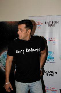 Sonakshi Sinha and Salman Khan Promoting Dabangg 2 on SA RE GA MA PA.