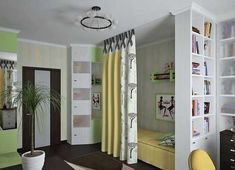 Kids Room Decorating Ideas for Young Boy and Girl Sharing One Bedroom