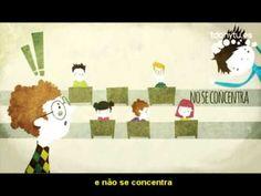 Animação sobre TDAH