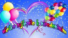 Všetko najlepšie k narodeninám Birthday Wishes, Birthday Cake, Congratulations, Birthdays, Jar, Celebrations, Facebook, Xmas, Wishes For Birthday