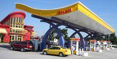 Shell Gas Station Fremont (California)