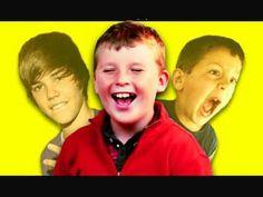 Kids React to Viral Videos #4 (David After Dentist, Justin Bieber Hit at Concert) - YouTube