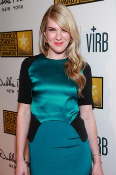 CRESTA BLEDSOE FINE JEWELRY: LILY RABE; Critics' Choice Television Awards; 18K black and white diamond stacking cuffs