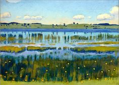 Ferdinand Hodler - Ufer am Äschisee