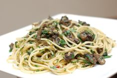 Snail Spaghetti – Recipe- The Food Blog