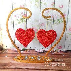 Two hearts heart of love gift saint valentine's day wedding gift engagement gift loving declaration of love mandala hearts mandala love