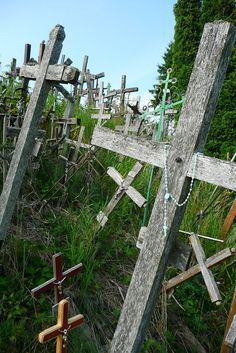 Cemetery -The Hill of Crosses, Lithunia