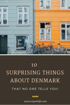 10 Interesting things about Denmark that you should know! Read here fore Danish culture, Scandinavian culture, Danish lifestyle, Biking and Drinking in Denmark and more! You'll definitely want to save this to your Denmark board so you can read later! #denmark #denmarklife #danmark #dane #bicycle #Scandinavia #copenhagen #copenhagenlife #ExpatLife #livingabroad