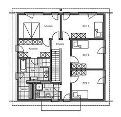 Stadtvilla grundriss 150 qm  Art 155 - mediterraner Stadtvilla Grundriss mit über 150 qm ...