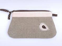 pink stripe pouch by countrykitty, via Flickr