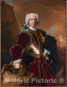 A4 Poster, Poster Prints, Art Print, Ludwig Xiv, Photo Print, 18th Century Clothing, European Paintings, Classic Image, Christian Art