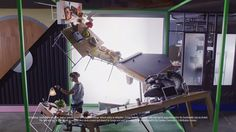 See How Droga5 Actually Made the Insanely Intricate Sets for Moto's New Ads | Adweek