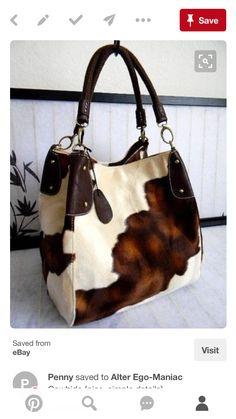 😎😎😎😎😎 Cute Handbags, Hobo Handbags, Purses And Handbags, Purple Handbags, Brown Handbags, Cowhide Bag, Western Purses, Bolsas Jeans, Leather Purses