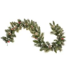 Complete your Christmas decor with wreaths, garland and swag. Decorate your mantel, railing, banister and more in holiday colors. Our unbelievable selection of natural-looking, artificial holiday wreaths and garland come pre-lit or unlit for any need. Christmas Greenery, Christmas Wreaths, Christmas Decorations, Christmas Ornaments, Holiday Decorating, Christmas Hats, Merry Christmas, Christmas Porch, Christmas Stuff