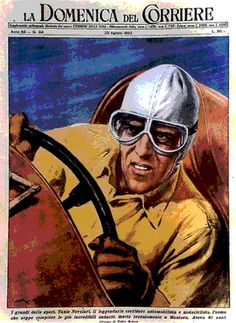 Tazio! Blog post featuring artwork and photos of The Great Nuvolari.  :)