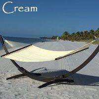 Cream Jumbo Caribbean Hammock