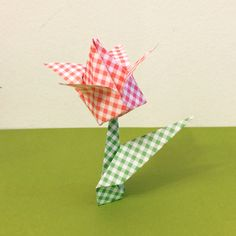 Origami flower diy by Tania Ishii