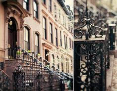 The house used as Carrie Bradshaw's apartment building in Sex and the City.