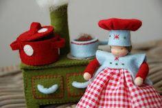 Cute Waldorf doll maker blog