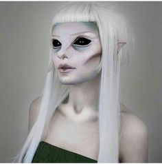@evatornado Alien Makeup. 33 Cool ideas