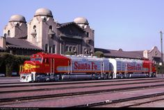 RailPictures.Net Photo: ATSF 101 Atchison, Topeka & Santa Fe (ATSF) EMD FP45 at San Bernardino, California by John Sistrunk