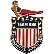 Sports Shop has 2012 Team USA Gymnastics Olympic Shield Pin plus easy flat rate shipping! 1984 Summer Olympics, Us Olympics, Winter Olympics, Olympic Medals, Olympic Games, Team Usa Gymnastics, Usa Gear, Porsche Logo, Women Accessories