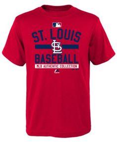 Majestic Boys' St. Louis Cardinals On Field Property T-Shirt