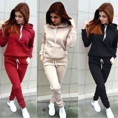 Trendy autumn tracksuits