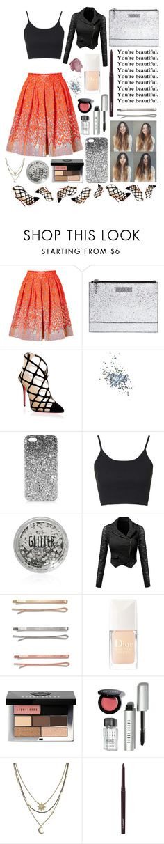 """""""You're beautiful! #115"""" by worldofflowers ❤ liked on Polyvore featuring Matthew Williamson, Kenzo, Christian Louboutin, Topshop, Madewell, Christian Dior, Talli, Bobbi Brown Cosmetics, NARS Cosmetics and BCBGeneration"""