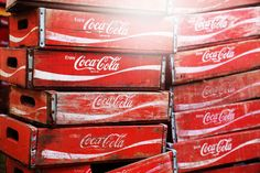 Vintage Coke Crates~The 23 Best Things We Saw at the 2014 Brimfield Antique Show