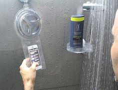 HOYO – Duschen mit Smartphone. Geht auch für  Gärtnern, in der Küche etc.