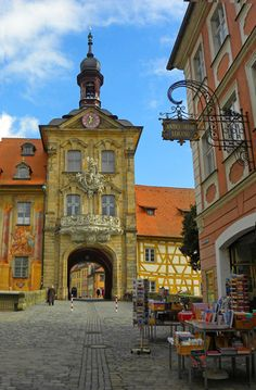 Rathous in Bamberg, Germany: http://bbqboy.net/bamberg-wurzburg-nuremberg-photos-thatll-convince-bamberg-base-franconia/ #bamberg #germany
