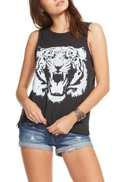 Chaser 'Le Tigre' Jersey Muscle Tank