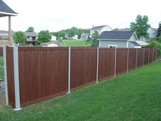 Stained Fence With Painted Posts Gate Fences Stain Gates Blessings