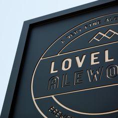 Loveland Ale Works Signage