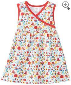 Zutano Baby-Girls Infant Happy Day Surplice Dress