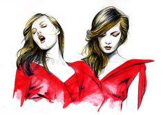 ilustrações fashions - Pesquisa Google