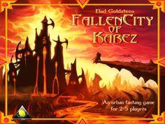 Fallen City of Karez - The Fantasy Board Game by Golden Egg Games, via Kickstarter.