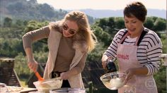 A atriz ensina a receita no 'Estrelas' durante a temporada na Serra Gaúcha
