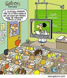 # Escuela / en el aula   #Tele Gaturro _ Prestar atención
