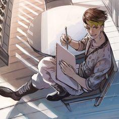 Jojo's Bizarre Adventures ☆ #JJBA #Anime #Manga Rohan