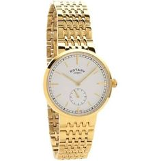 Rotary - Canterbury Gold Plated Bracelet Watch Gold Plated Bracelets, Gold Watch, Bracelet Watch, Plating, Watches, Men, Accessories, Wristwatches, Clocks