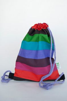 Items similar to Small backpack for kids MULTICOLOR    Mini Mochila on Etsy 667cc71c099
