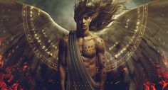 Celestial Warrior Uriel by Carlos-Quevedo on DeviantArt Male Angels, Angels And Demons, Male Fallen Angel, Homo, Ange Demon, Foto Casual, Guardian Angels, Angel Art, Celestial