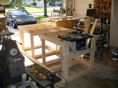 Backyard Workshop - Ultimate Workbench