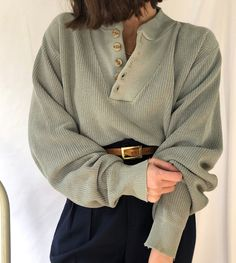 Woman Knitwear and Sweaters woman within holiday sweaters Look Fashion, Korean Fashion, Winter Fashion, Fashion Outfits, Travel Outfits, Vintage Fall Fashion, Fashion Women, Net Fashion, Vintage Winter
