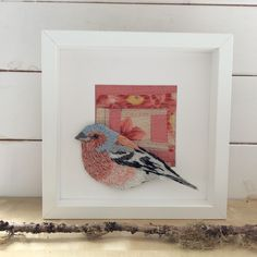 project concerns Environmental and Emotional repair through the medium of Textiles. Using natural dyes, Eco friendly fabrics and handstitching to produce Artworks which take Repair as their theme Hand Stitching, Hand Embroidery, Chaffinch, Frame, Artwork, Fabric, Projects, Painting, Zebra Finch