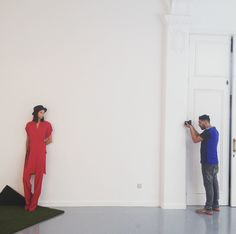 Isabel de Pedro photo shooting SS16 Lookbook.